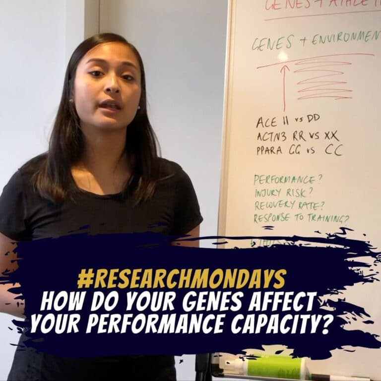 How do your genes affect your performance capacity? | Research Mondays