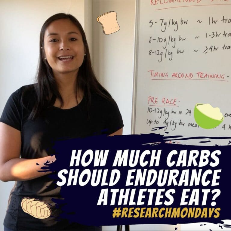 How much carbs should endurance athletes eat? | Research Mondays