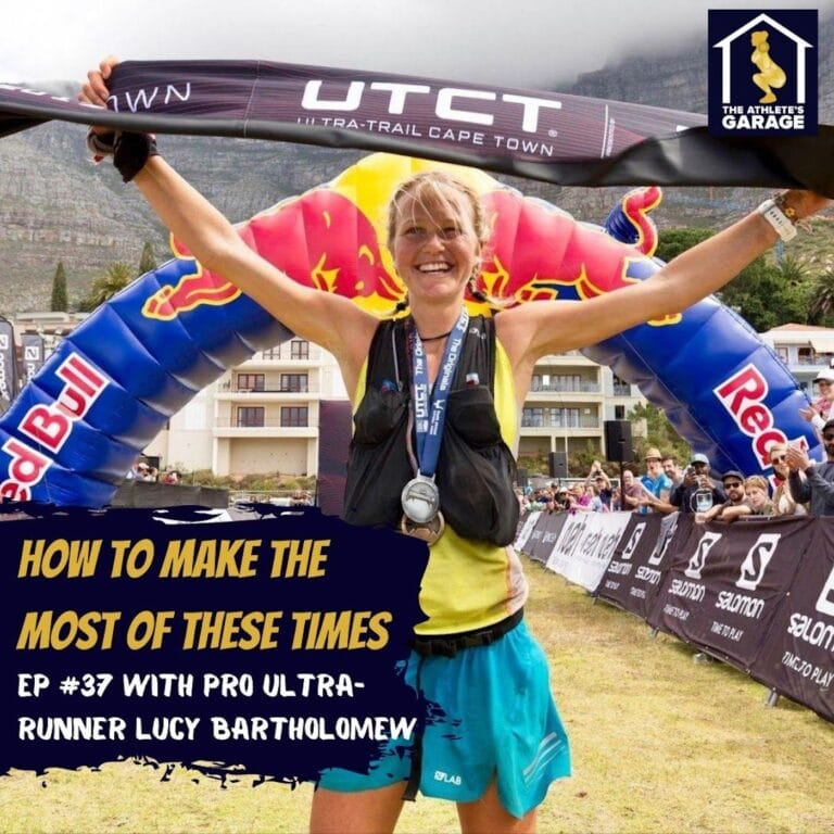 How to make the most of these times with Professional Ultra-Runner Lucy Bartholomew